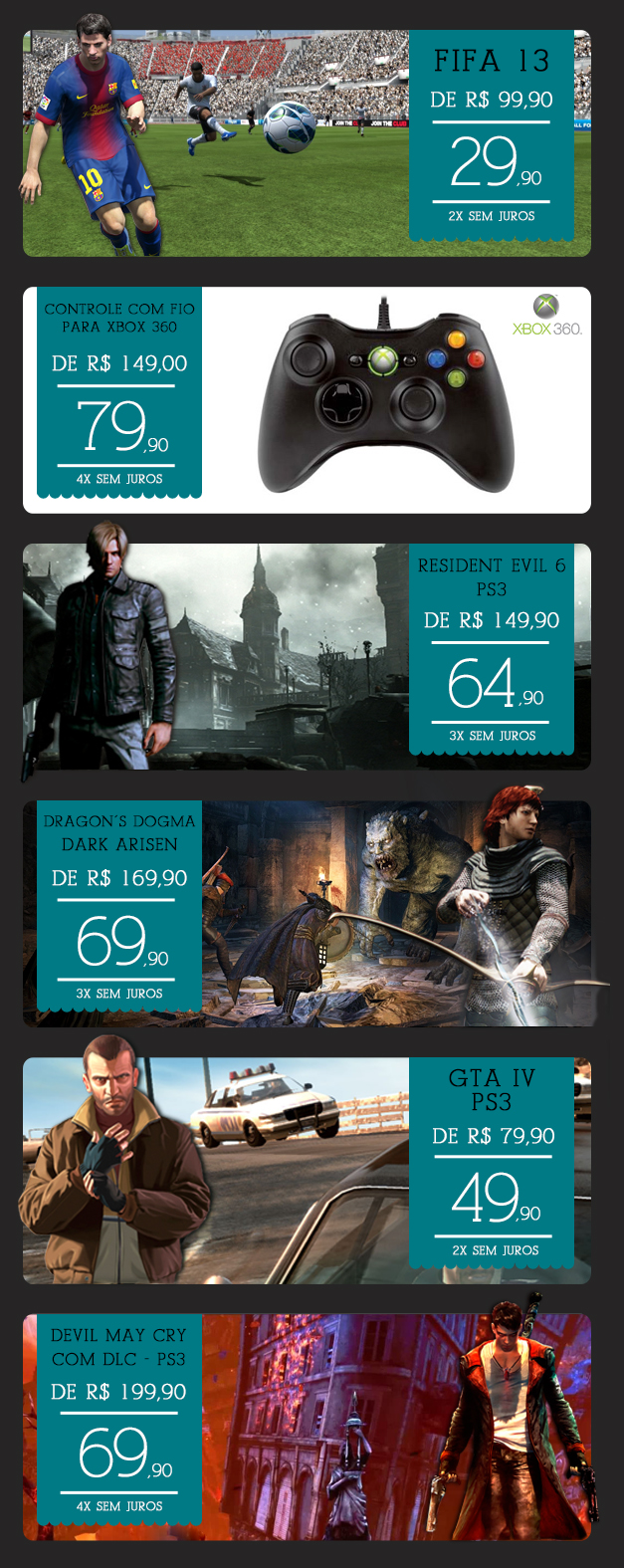 Banners: Especial Games