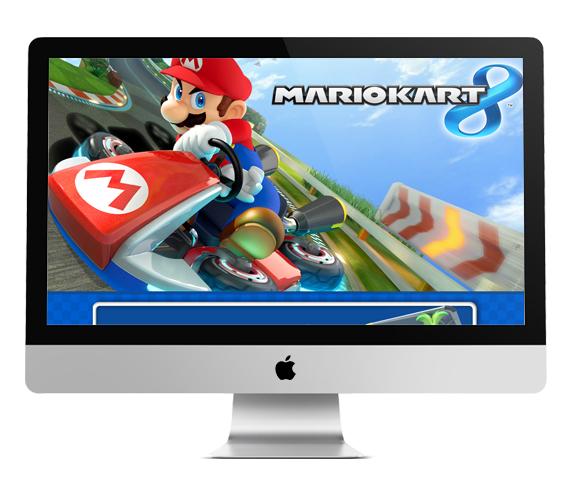 IFrame de Produto: Mario Kart 8